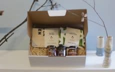 Gold hamper ethical gift