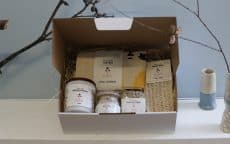 Body care hamper ethical gift