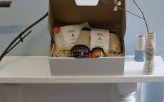 Opal hamper ethical gift