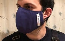reusable face mask for men