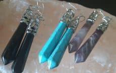 Vanessa- Stones earrings